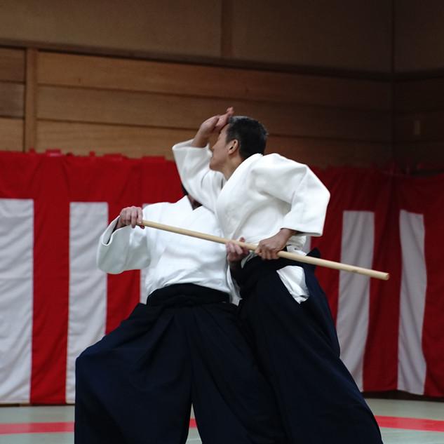 Yasuno Sensei 8eme Dan Aikikai