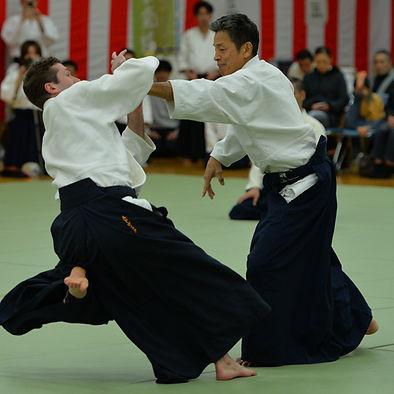 Yasuno Sensei Aikido Japon