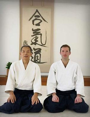 Yasuno Sensei Aikikai de Tokyo