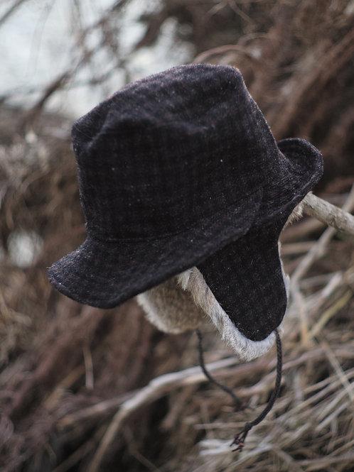 BLACKBIRD / trapper's hat