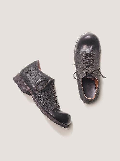 m.a+ / clown reverse full grain shoe