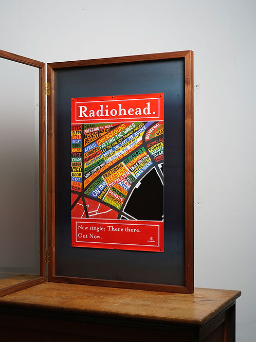 RADIOHEAD / There there. promo