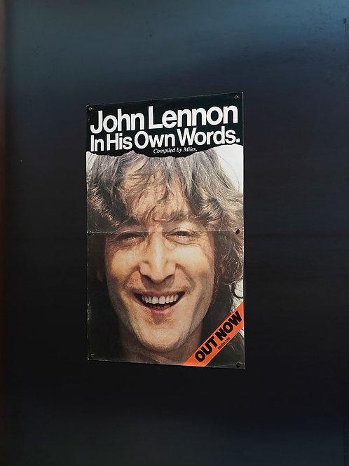 JOHN LENNON In His Own Words. /FLYER-promo
