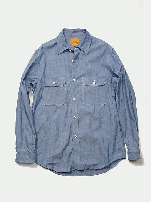 BLACKBIRD / work shirt-chambray