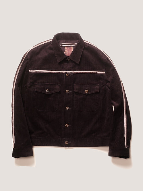 PHOTOGRAPH / Cubism Corduroy Short Jacket