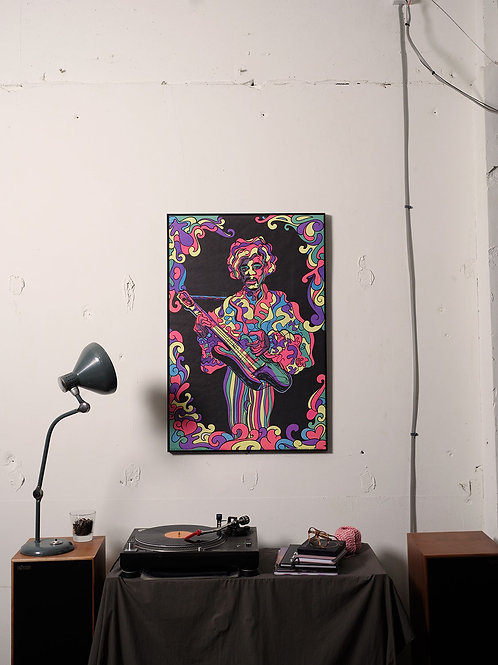 Jimi Hendrix / F.E FIERRO