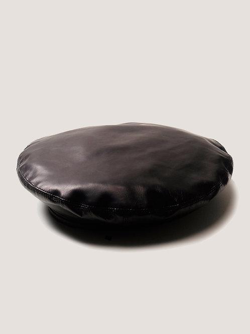KIJIMA TAKAYUKI HIGHLINE / leather french beret