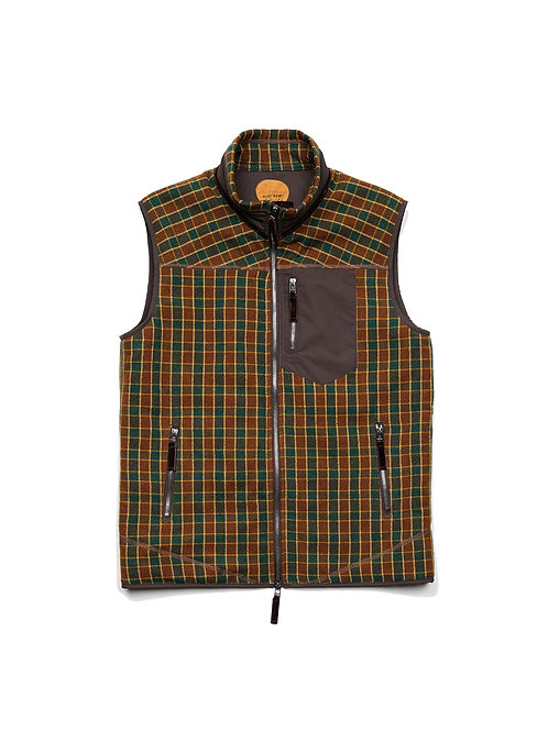 BLACKBIRD / insulation stand zip vest