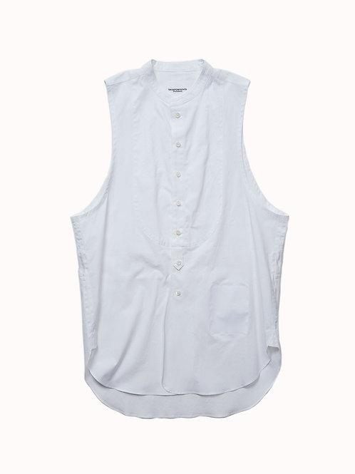 TAKAHIROMIYASHITA TheSoloist. / band collar sleeveless shirt type 2