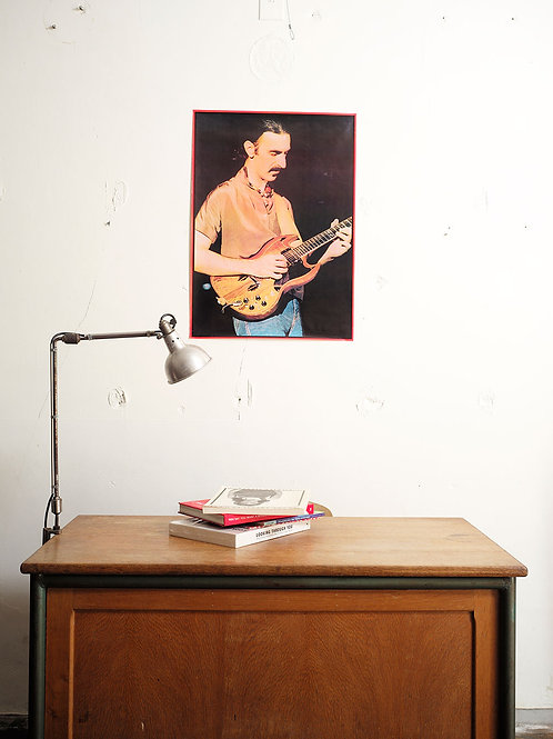 Frank Zappa / 1979 printed in England