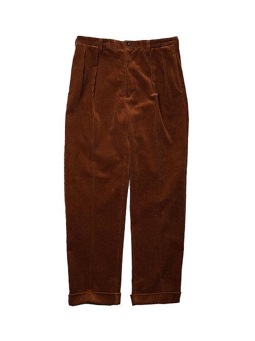 BLACKBIRD / high waisted two-tuck trouser