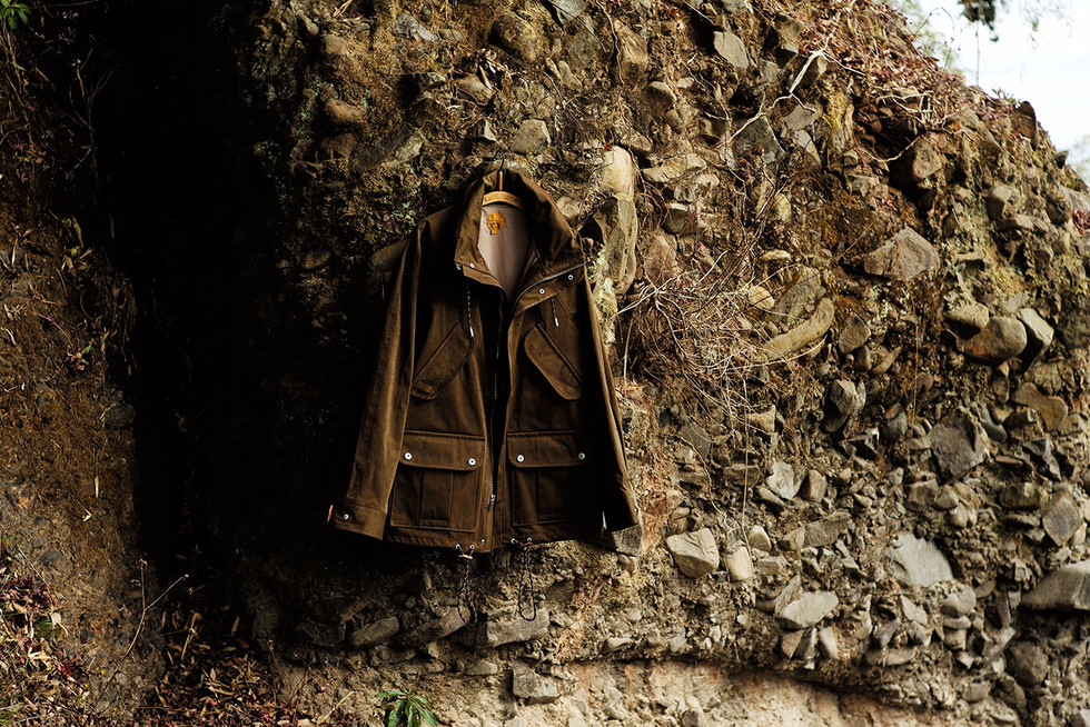 BLACKBIRD-mountain field parka-
