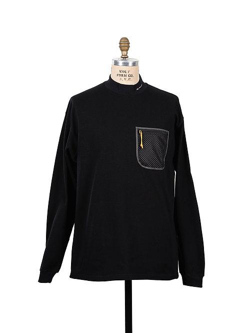 BLACKBIRD / mock neck sweat shirt