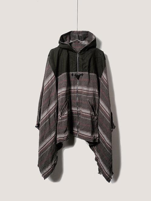 BLACKBIRD / bohemian poncho jacket