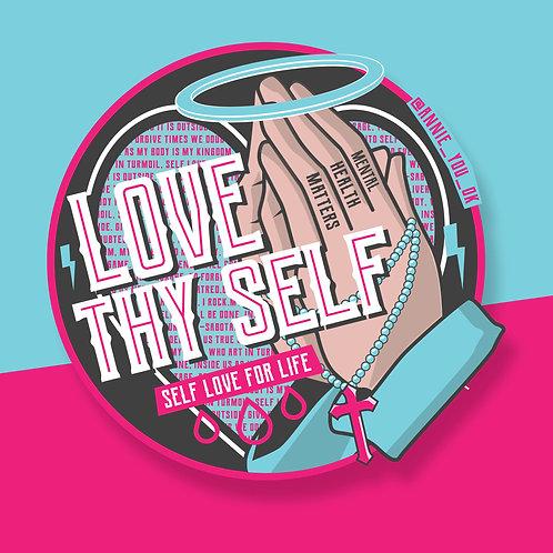 Love Thy Self Sticker