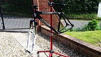 Cove Stiffee Frame with Rock Shox