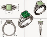 rhino 3design cad  jewelry software trai