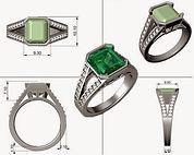 rhino 3design cad  jewelry software trai