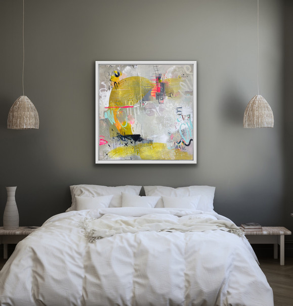 26x26 Acrylic on canvas