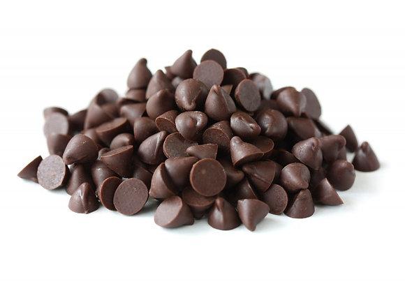 Pepitas de chocolate bio com açúcar de coco
