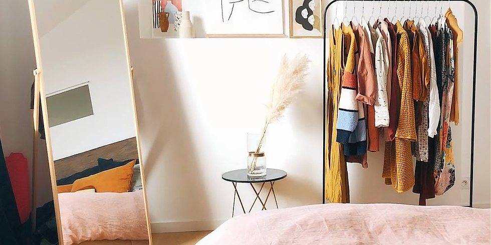 Guarda roupa Sustentável: crie o seu!