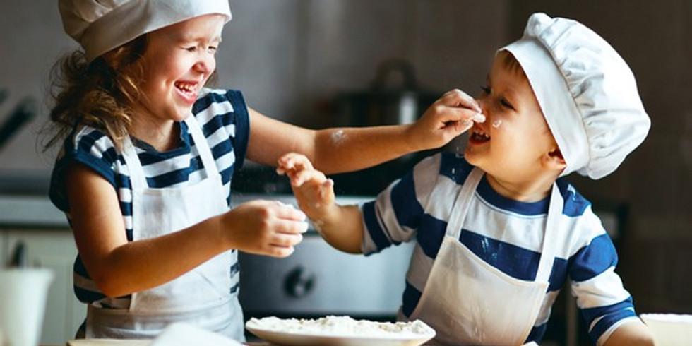 Vamos cozinhar e divertirmo-nos - para Crianças