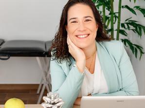 Consultas semanais com nutricionista Raquel Mateus em Sintra