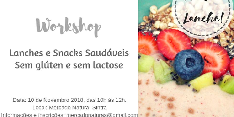 Workshop Lanches e Snacks s/ Gluten e Lactose