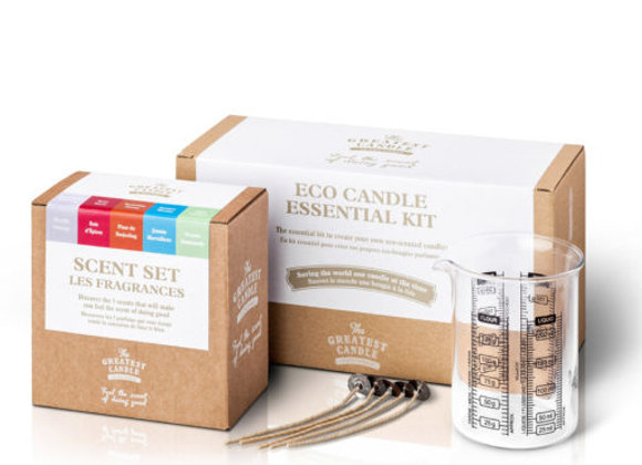 Kit Essencial Velas Ecológicas