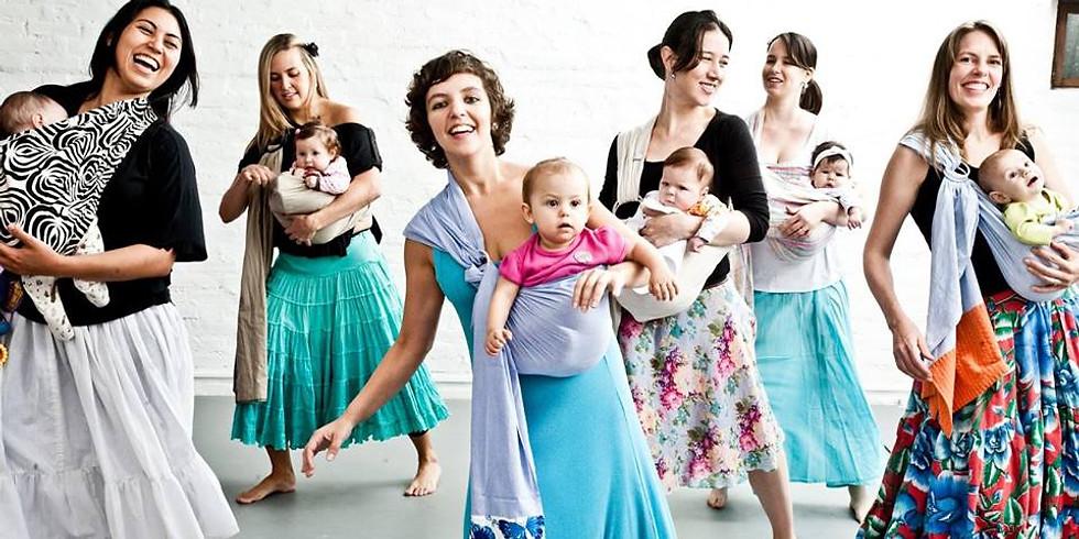 Dança Materna para Mães e bebés - No DIA DA MÃE