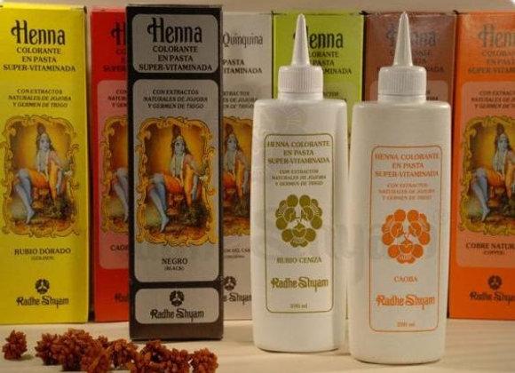 Coloração Henna em pasta 200 ml