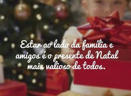 Um Natal de Afectos…