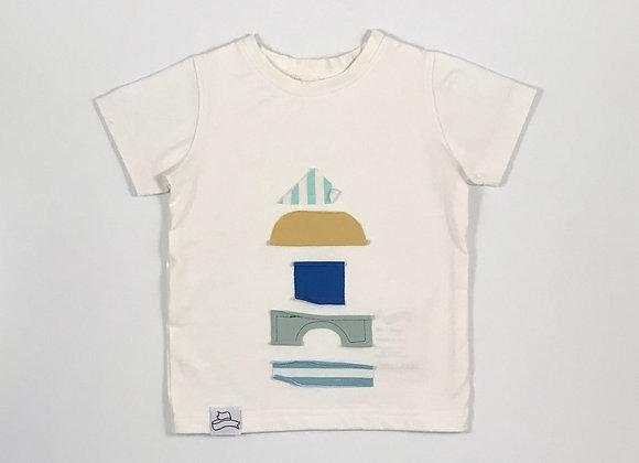 BB T-shirt com aplicações