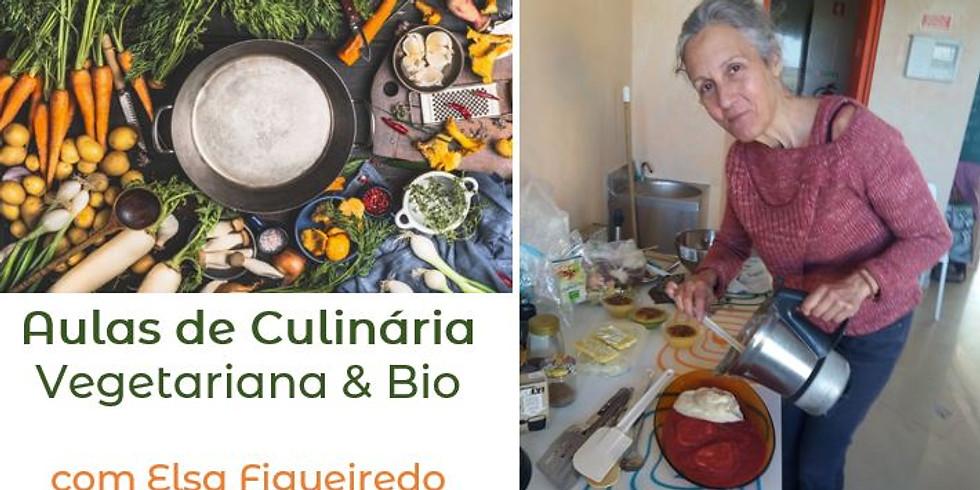 Aulas de Culinária Vegetariana & Bio com Elsa Figueiredo