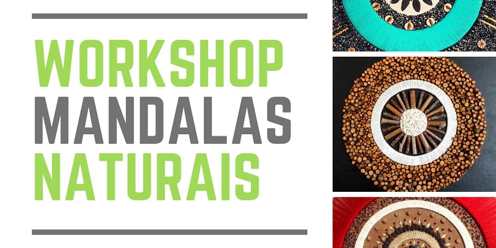 Workshop Mandalas Naturais