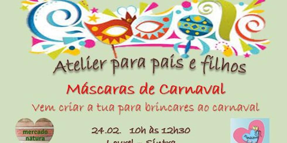 Atelier Pais e Filhos - Máscaras de Carnaval