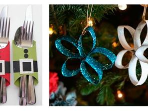 Natal sustentável, reutilizar e encantar!