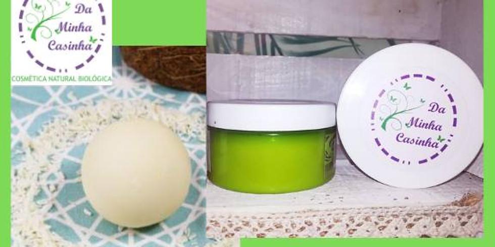 Workshop Desodorizante Sólido e Creme Facial