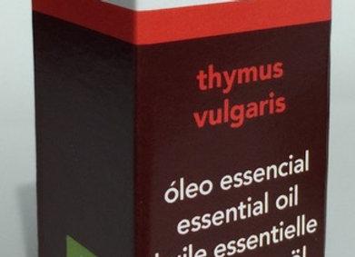 Óleo essencial terapêutico Thymus vulgaris - Tomilho vulgar