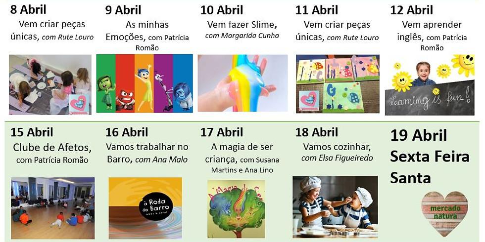 Actividades para Crianças - Férias DA Páscoa