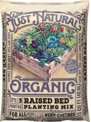 Just Natural Organic Raised Bed Planting