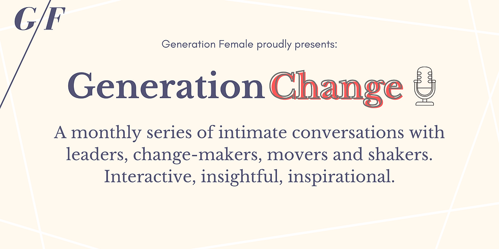 Generation Change - Francesca Fossatelli