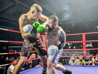 White collar boxing with Tank Promotions in Swindon Mecca
