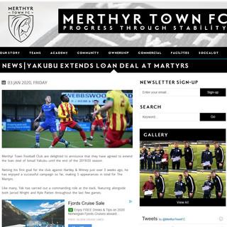 Merthyr Town fc