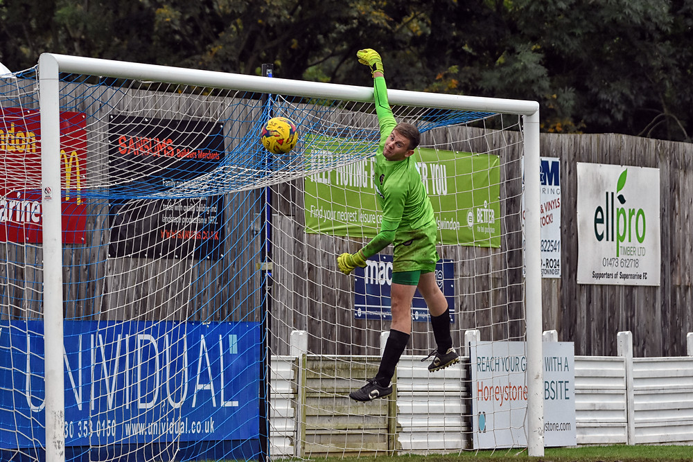 Great save by Liam Beech at Supermarine