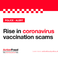 Public urged to be vigilant to scam vaccine messages