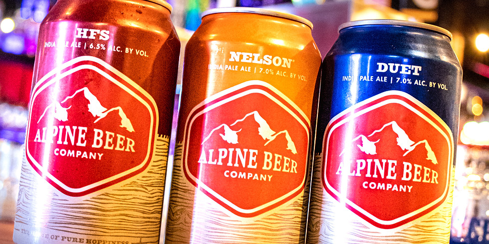 Alpine Beer Company Tap Take Over