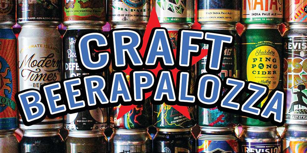 Beerapalooza Event - 50% Off All Beer