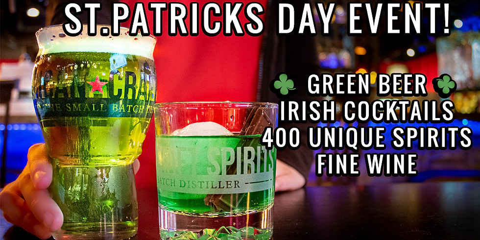 St.Patrick's Day Beer, Cocktails and Spirits Event