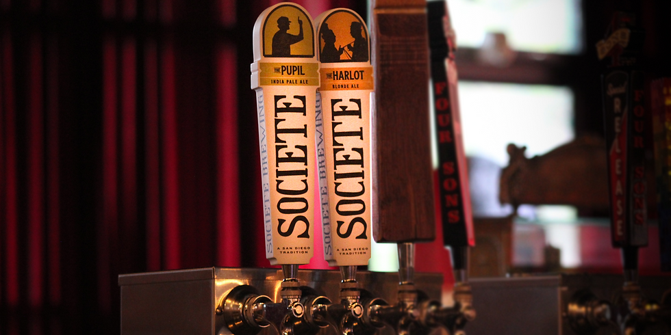 Societe Brewing Tap Takeover & Complimentary Beer Tasting